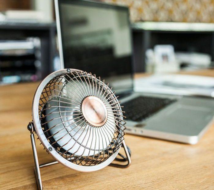 mini ventilateur de bureau